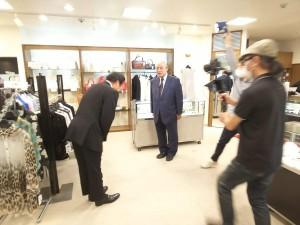 日興証券広島支店長とニュー社長の初対面