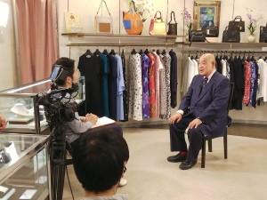 緊張のインタビュー